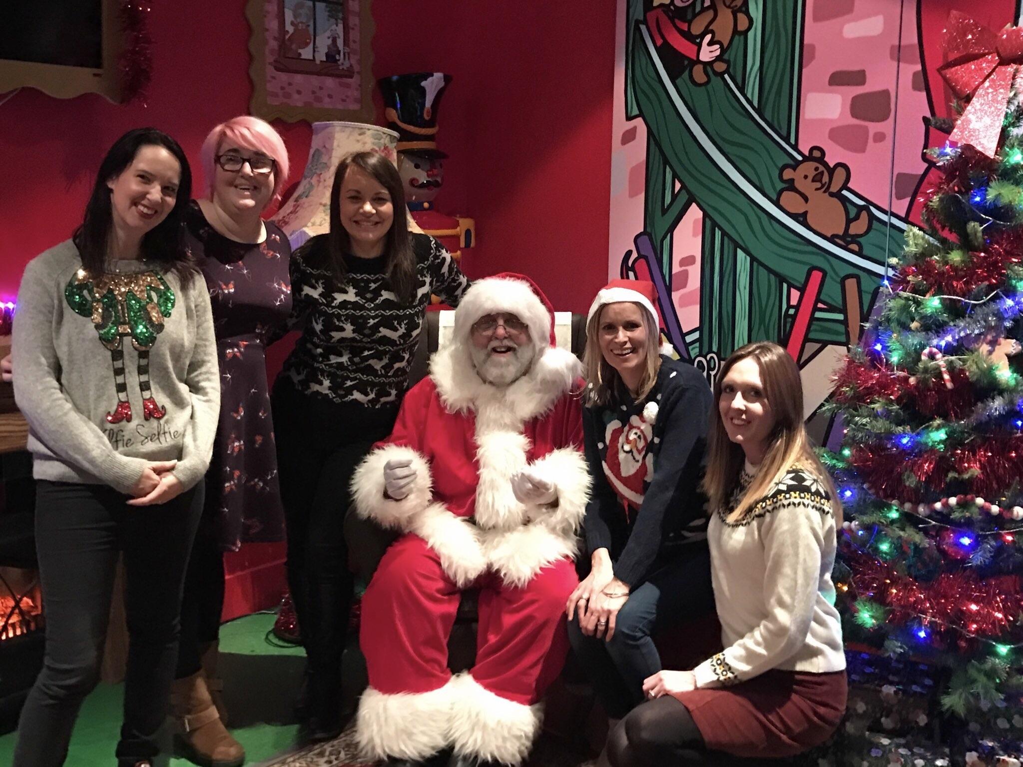 Father Christmas Hamleys Cardiff