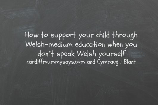 How to support your child through Welsh medium education