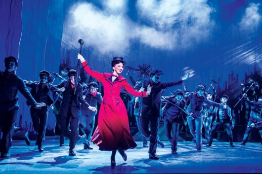 MARY POPPINS -  Step In Time - Zizi Strallen (Mary Poppins) & Company. Photo by Johan Persson