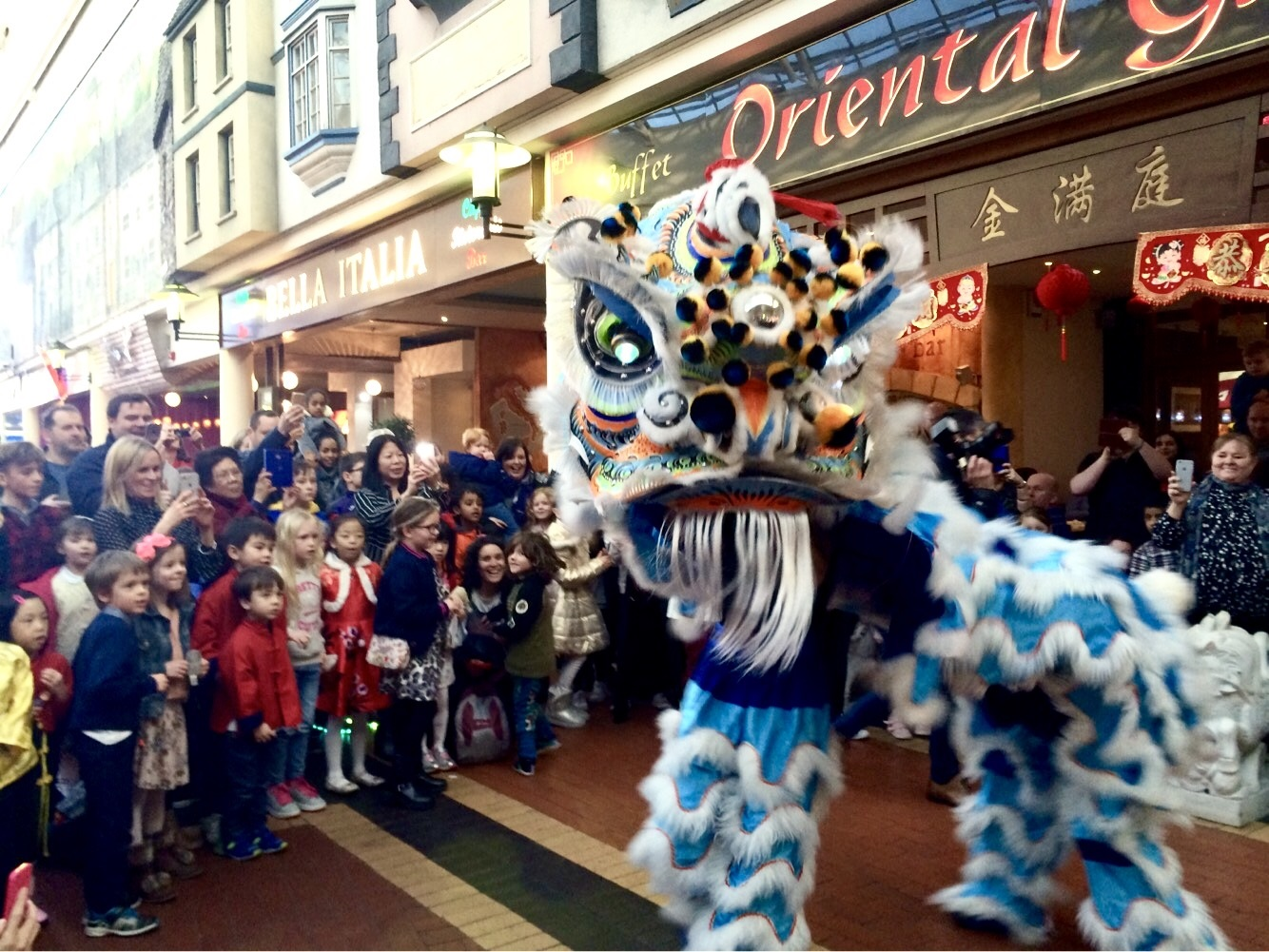 Oriental Garden Red Dragon Centre Cardiff Bay