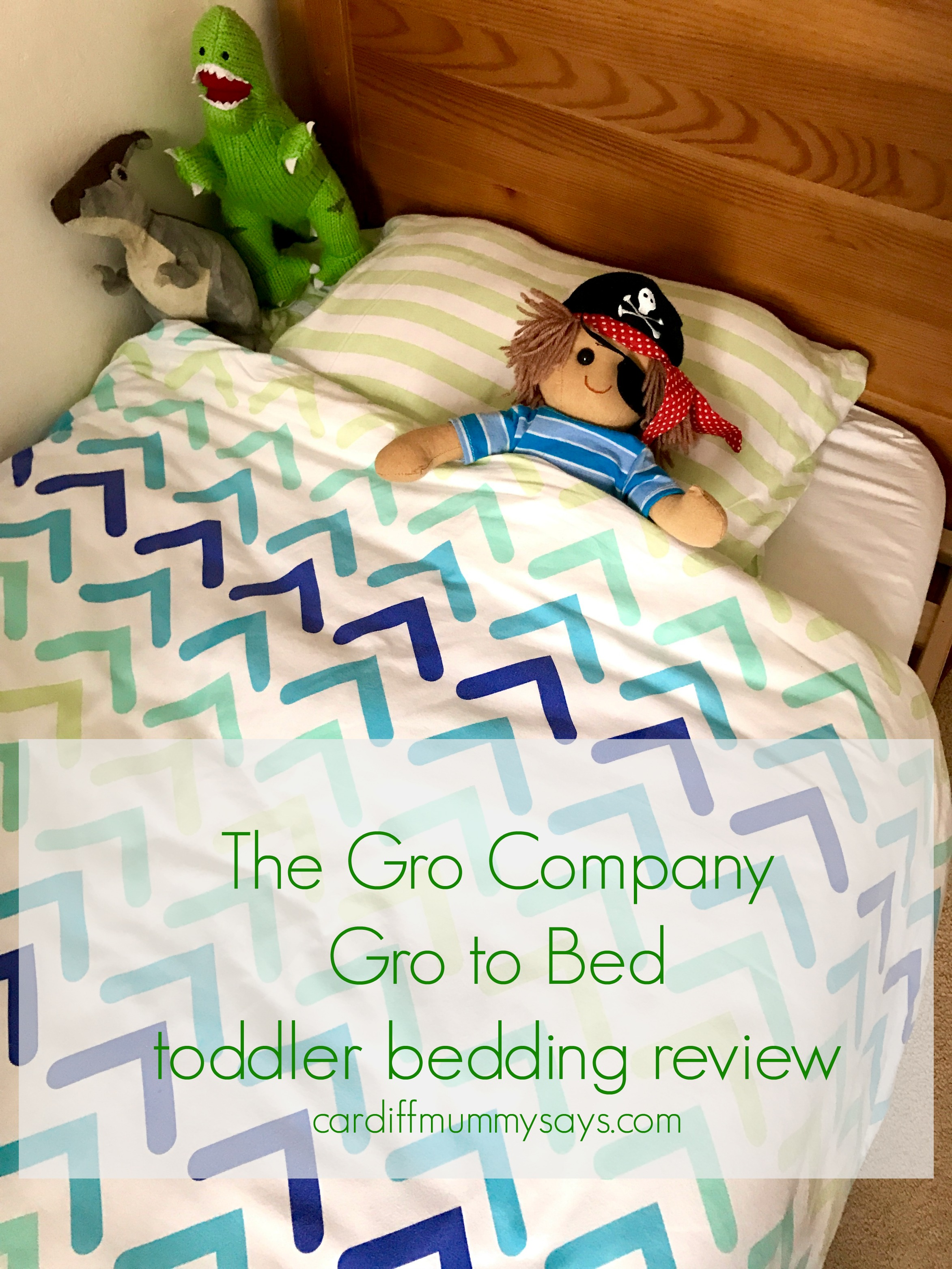 Gro to bed toddler bedding review