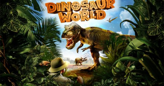 Dinosaur World St David's Hall Cardiff