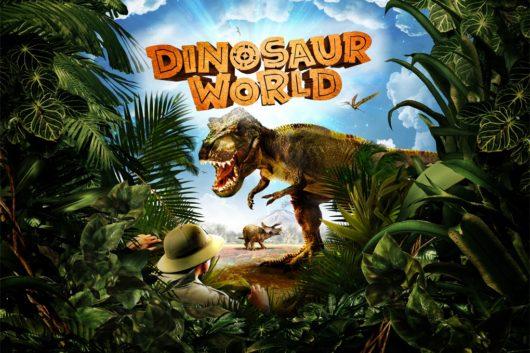 Dinosaur World St David's Hall Cardiff