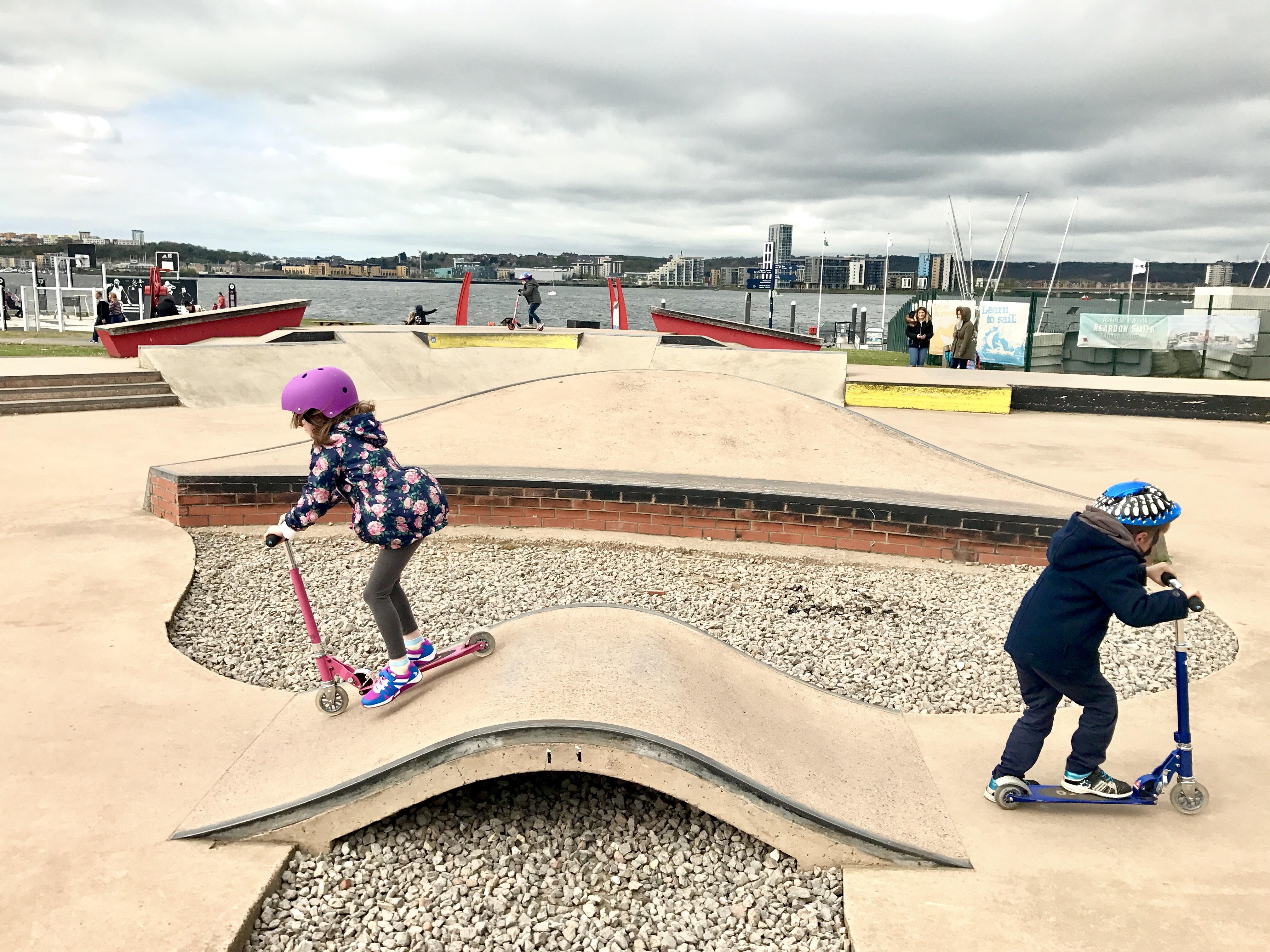 Cardiff Bay Barrage Skate Park