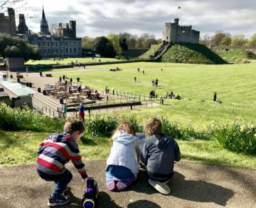 Cardiff Castle Easter Trail