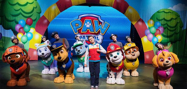 Paw Patrol Live Cardiff