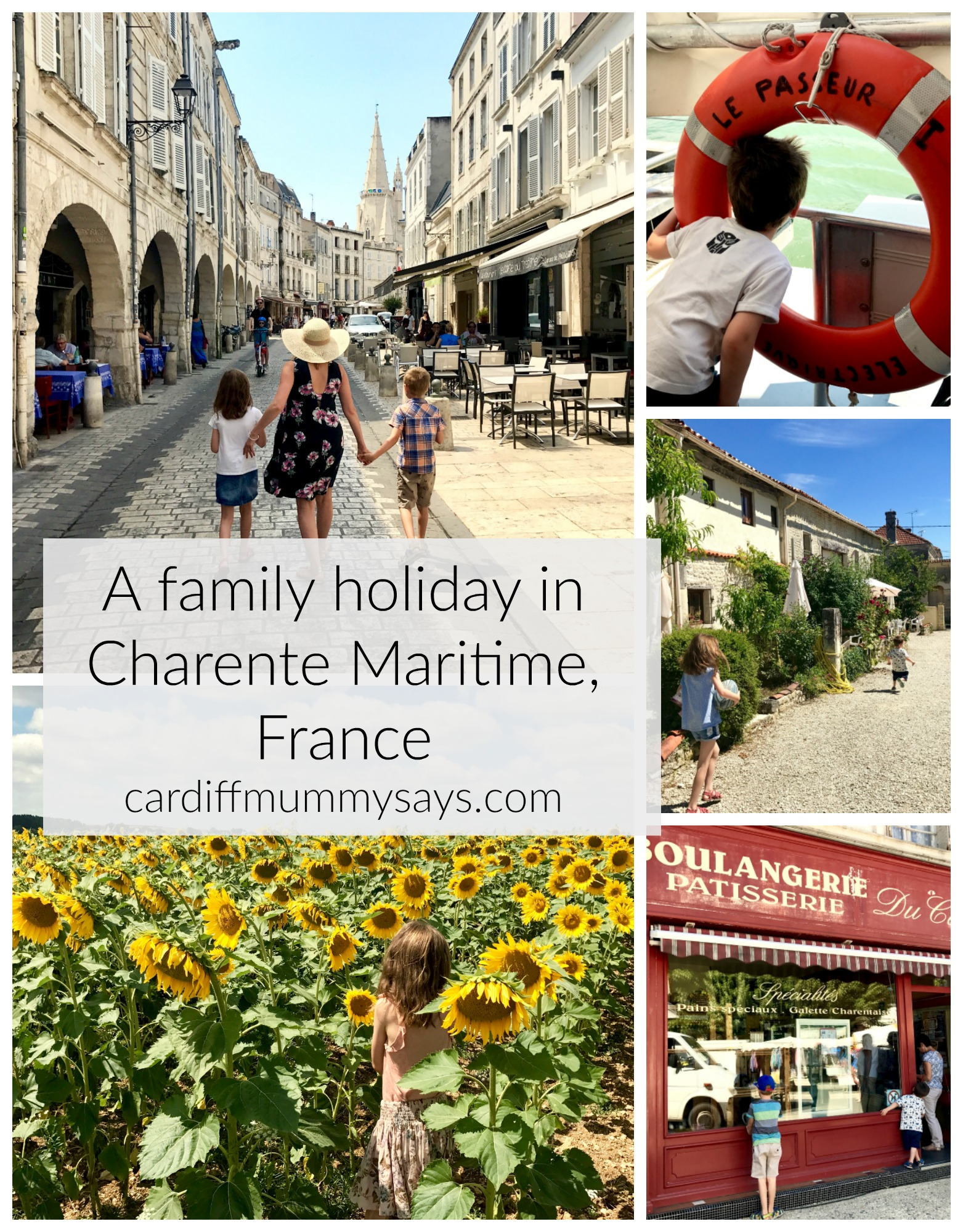 family holiday Charente Maritime