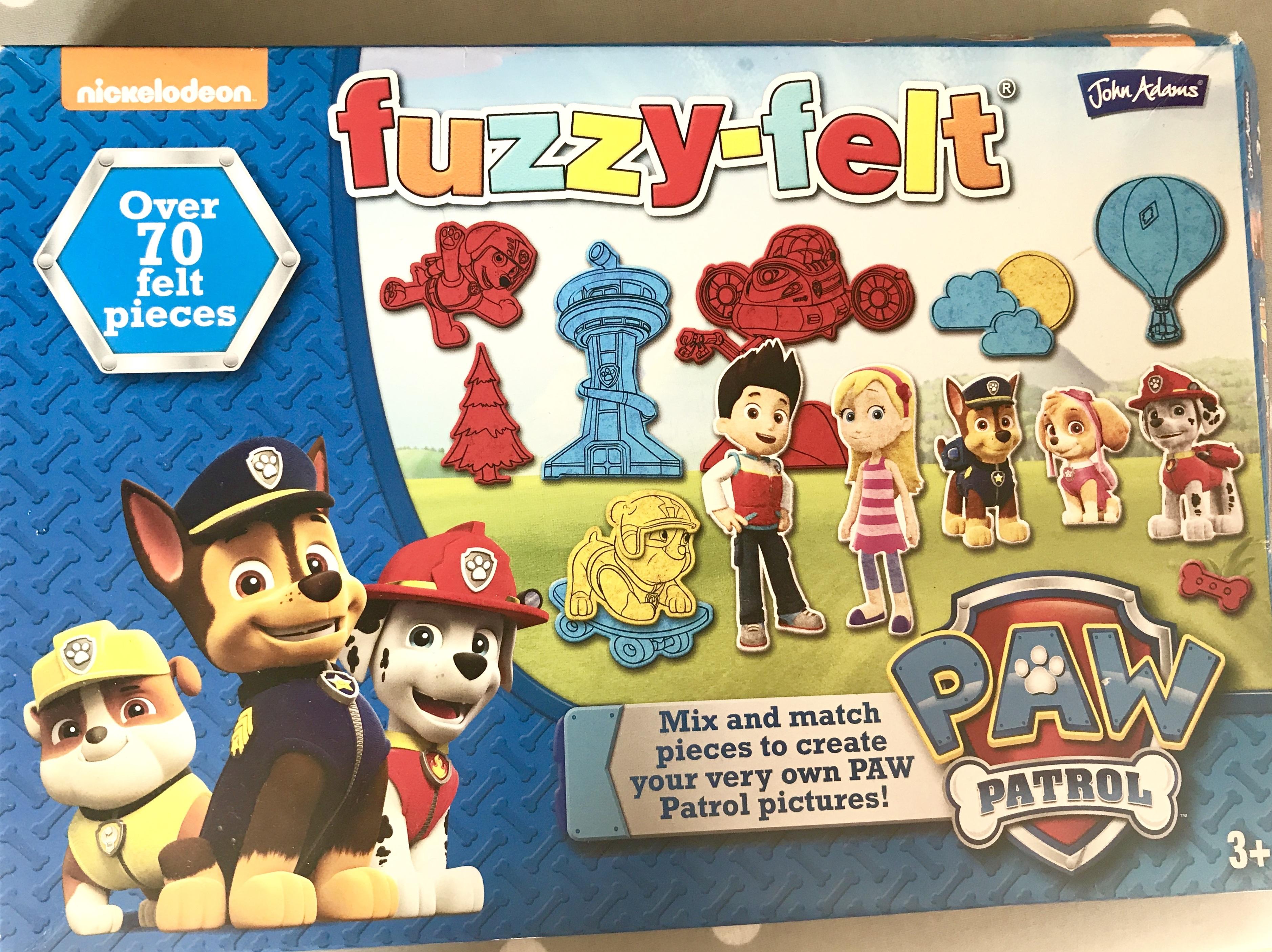 Paw Patrol Fuzzy Felts