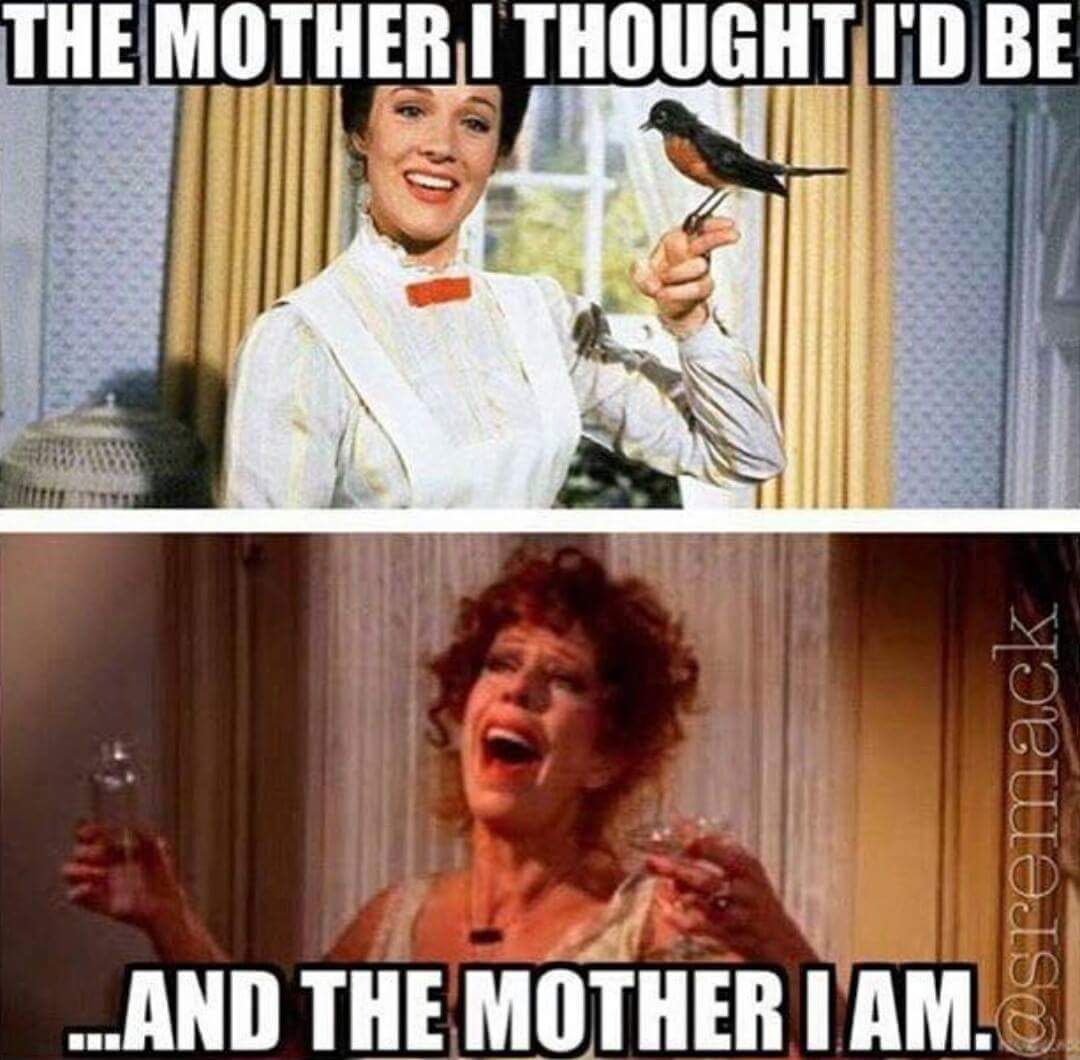 When you start the day like Mary Poppins and end it like ...