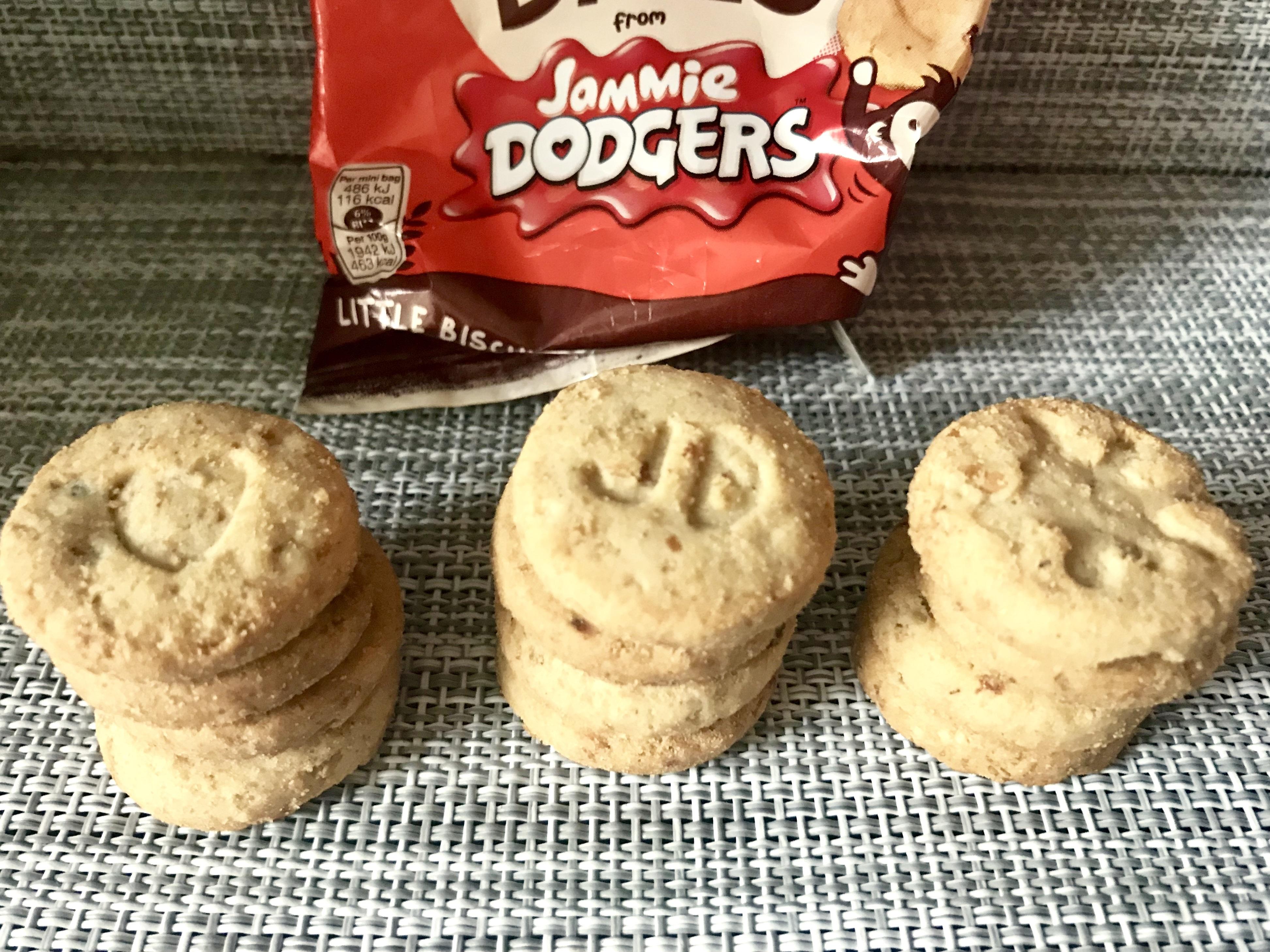 Jammie Dodgers Oaty Bites