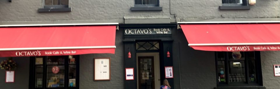 Octavo's Book Cafe and Wine Bar Cardiff Bay