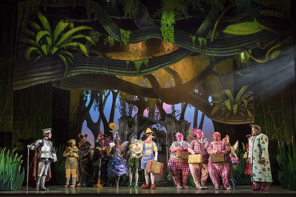 Shrek the Musical Cardiff