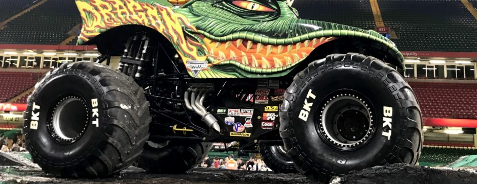 Monster Jam Cardiff 2018
