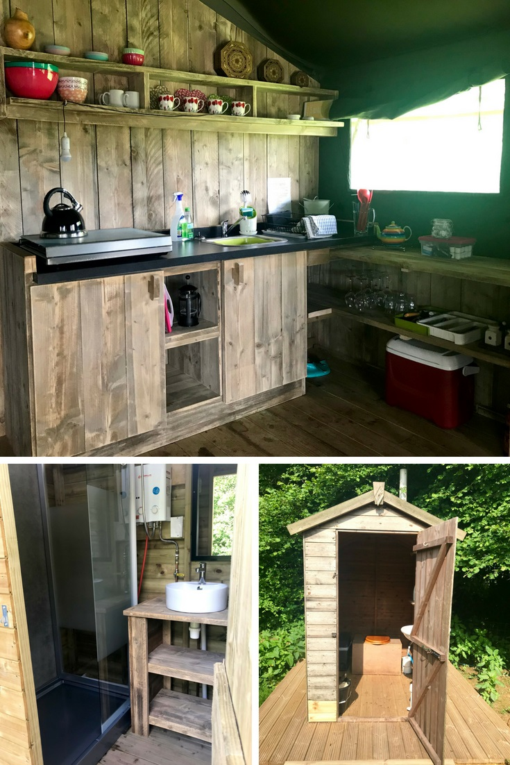 Glamping Cuckoo Down Farm East Devon