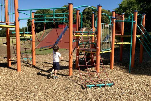 Roath Recreaction Ground playground