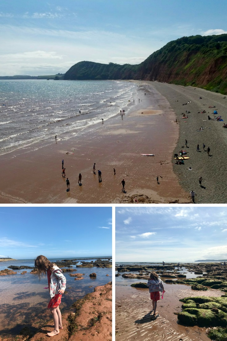Sidmouth beach East Devon