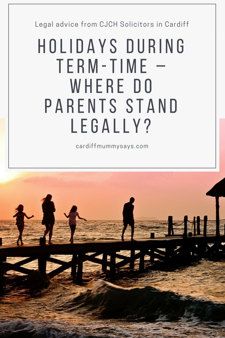 Term time holidays law