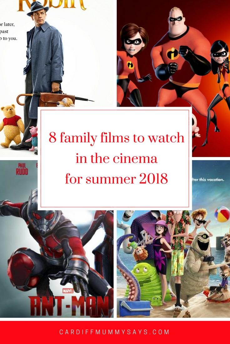 Family films summer 2018
