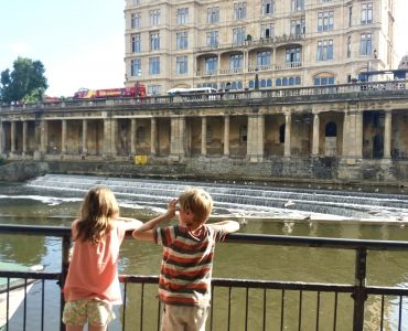 Family trip to Bath