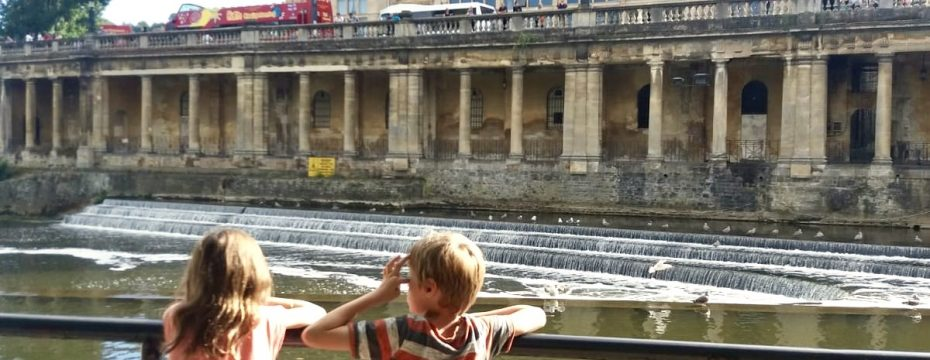 Family trip to Bath