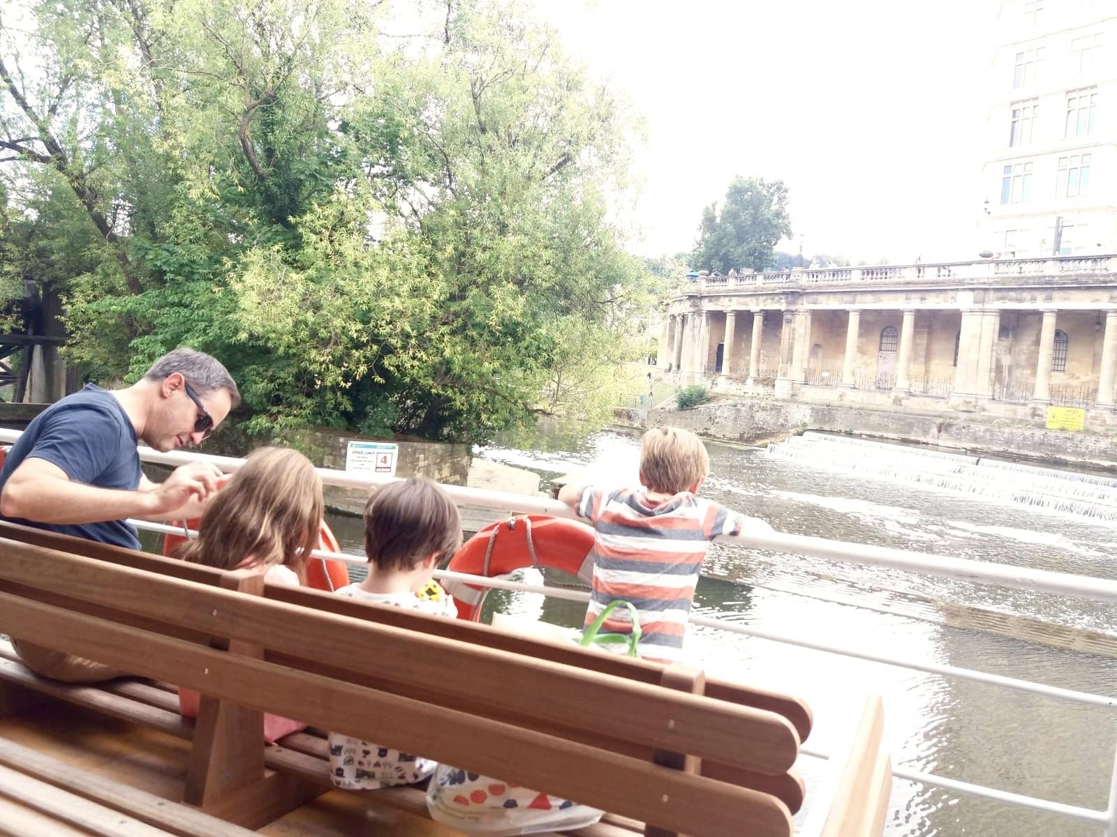Family trip to Bath UK