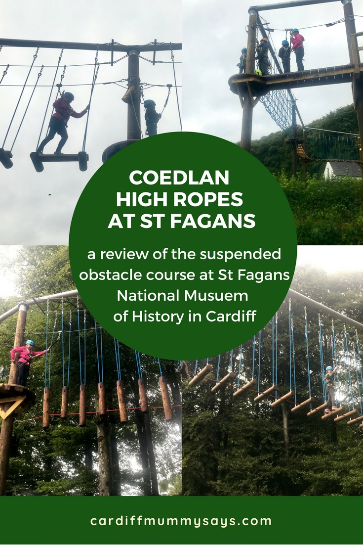 CoedLan High Ropes at St Fagans