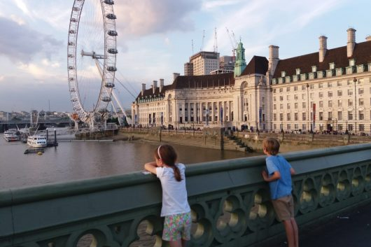 Family trip to London on a budget