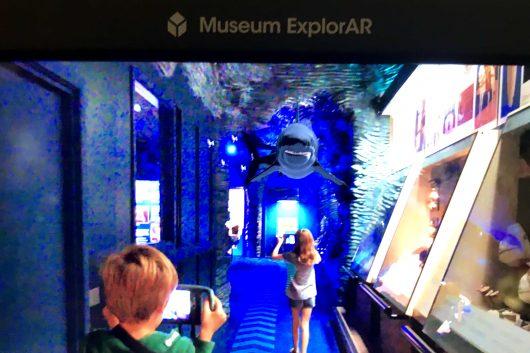 Museum ExplorAR at National Museum Cardiff