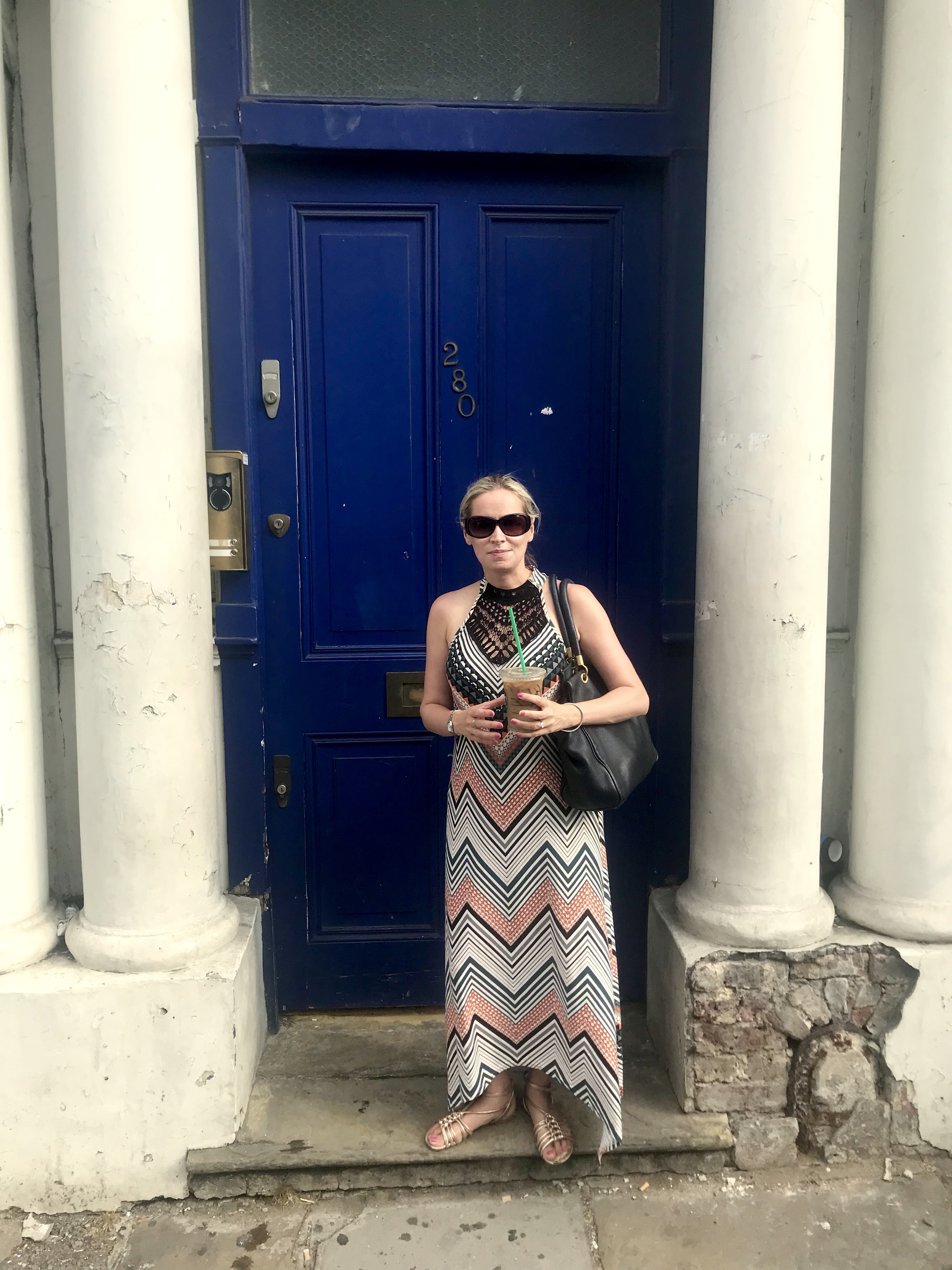 Notting Hill blue door