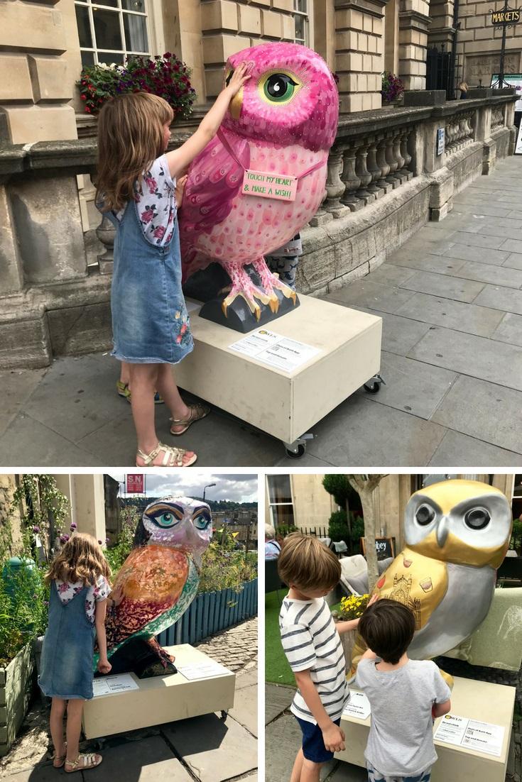 Minerva's Owls of Bath