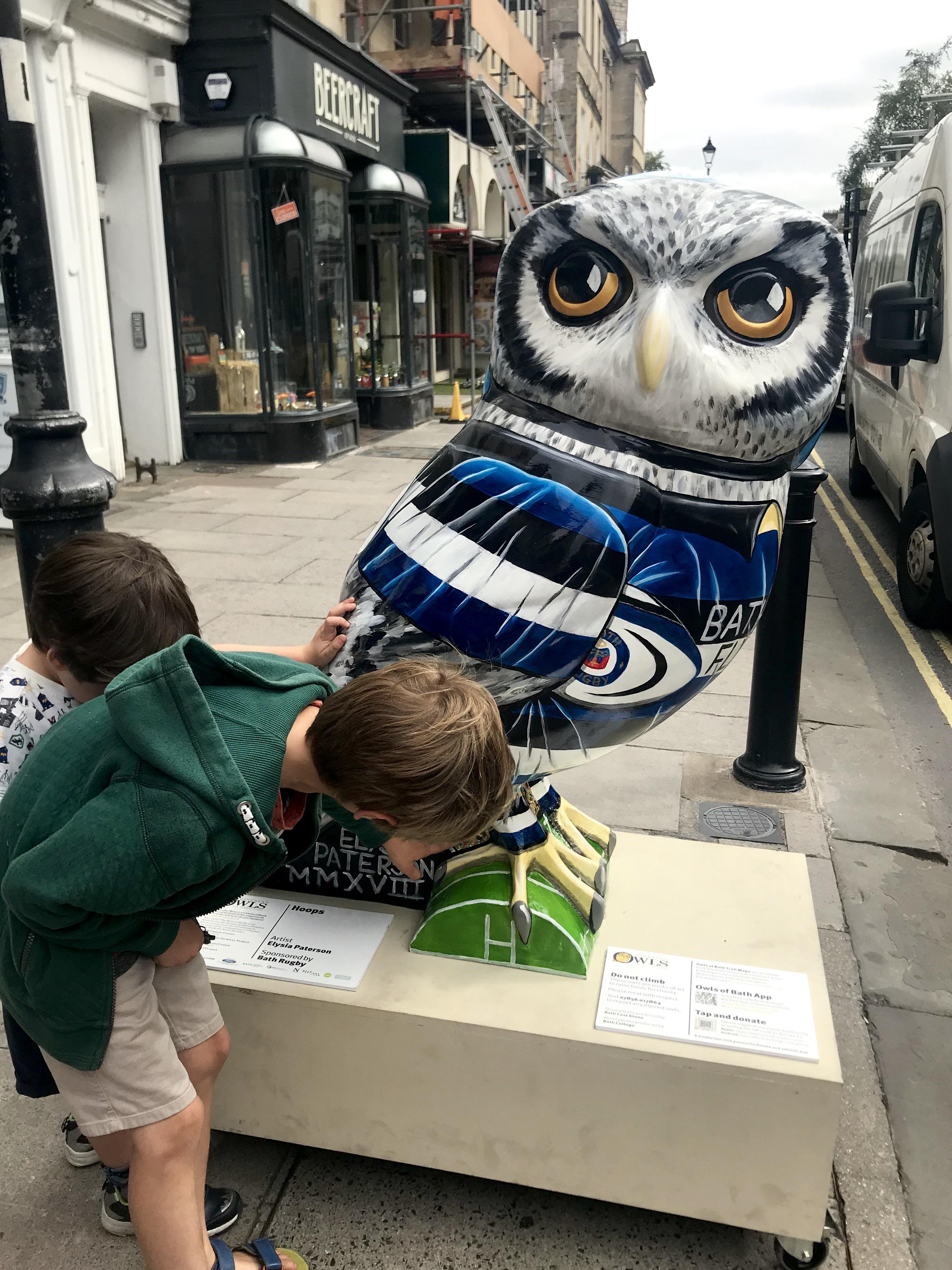 Mivera Owls of Bath