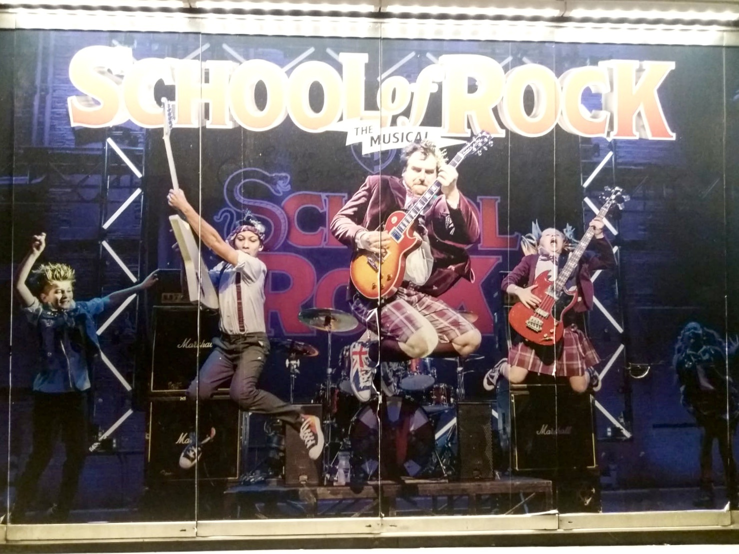 School of Rock Musical review