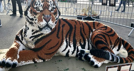 Lego Big Cats Cardiff Bay