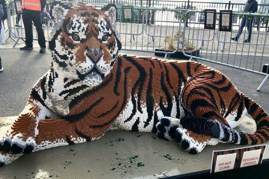 Lego Big Cats Cardiff Bay