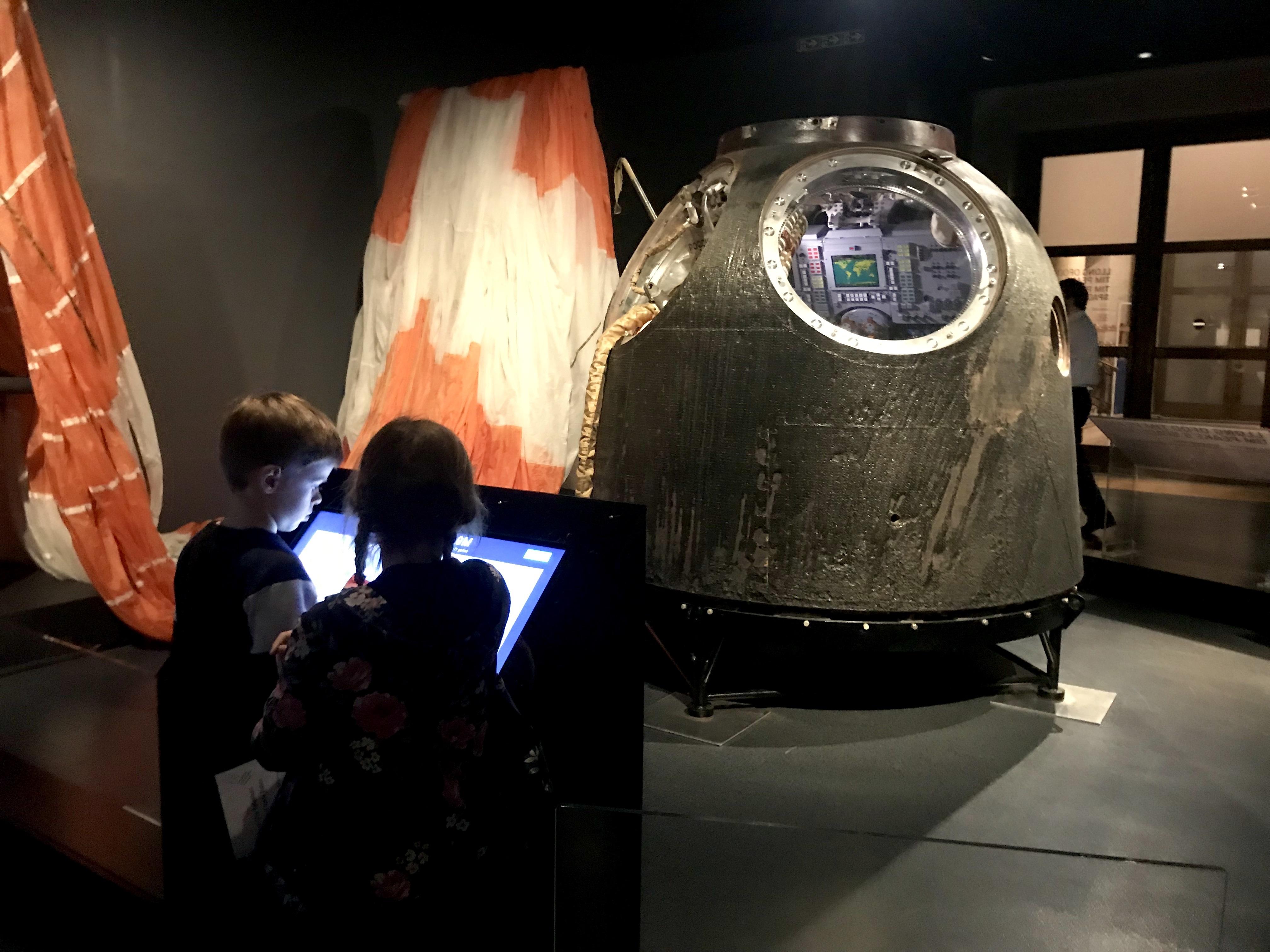 Tim Peake's Spacecraft Cardiff