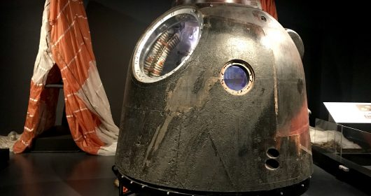 Tim Peake's Spacecraft Cardiff