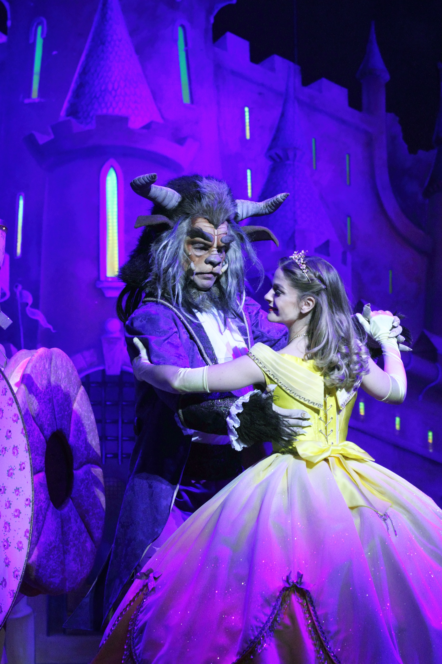 Beauty and the Beast New Theatre Cardiff