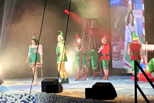 Elf the Musical Cardiff Motorpoint Arena