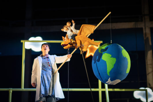 Zog theatre show Cardiff