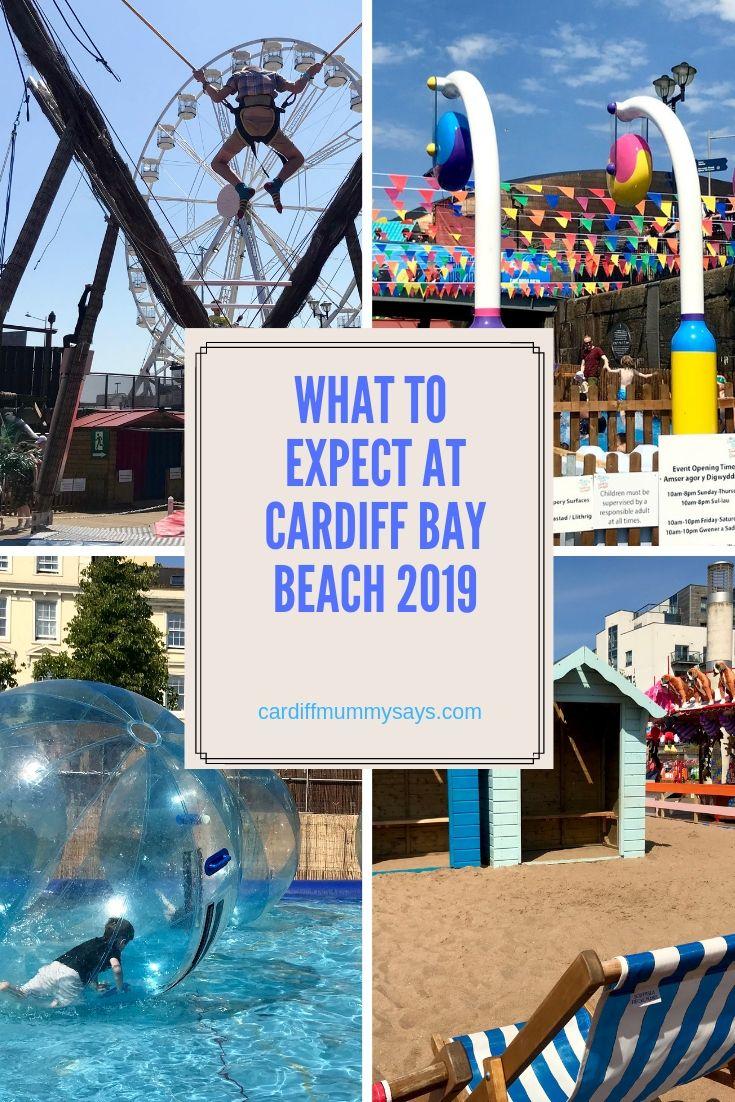 Cardiff Bay Beach 2019