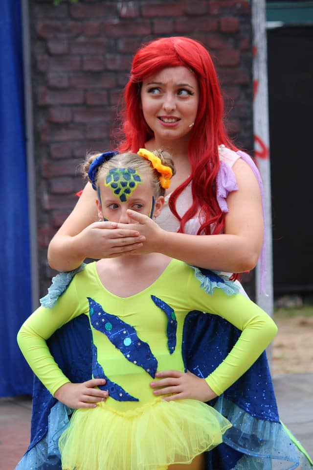 The Little Mermaid Jr Cardiff Open Air Theatre Festival