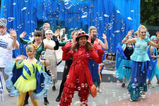 The Little Mermaid Jr Cardiff Open Air Theatre Festival