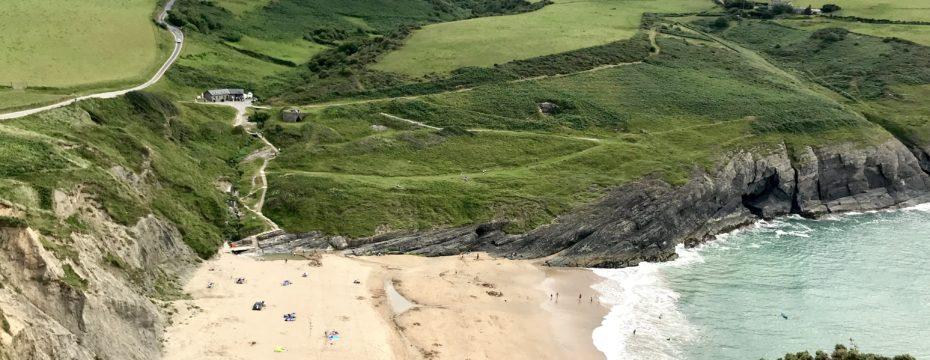 Mwnt Beach