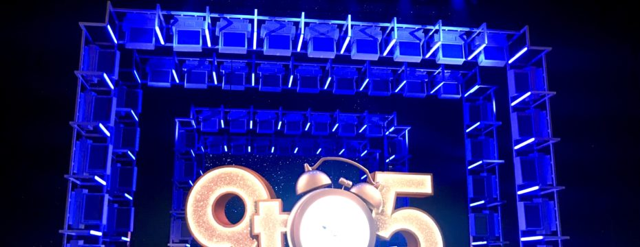 9 to 5 the musical review