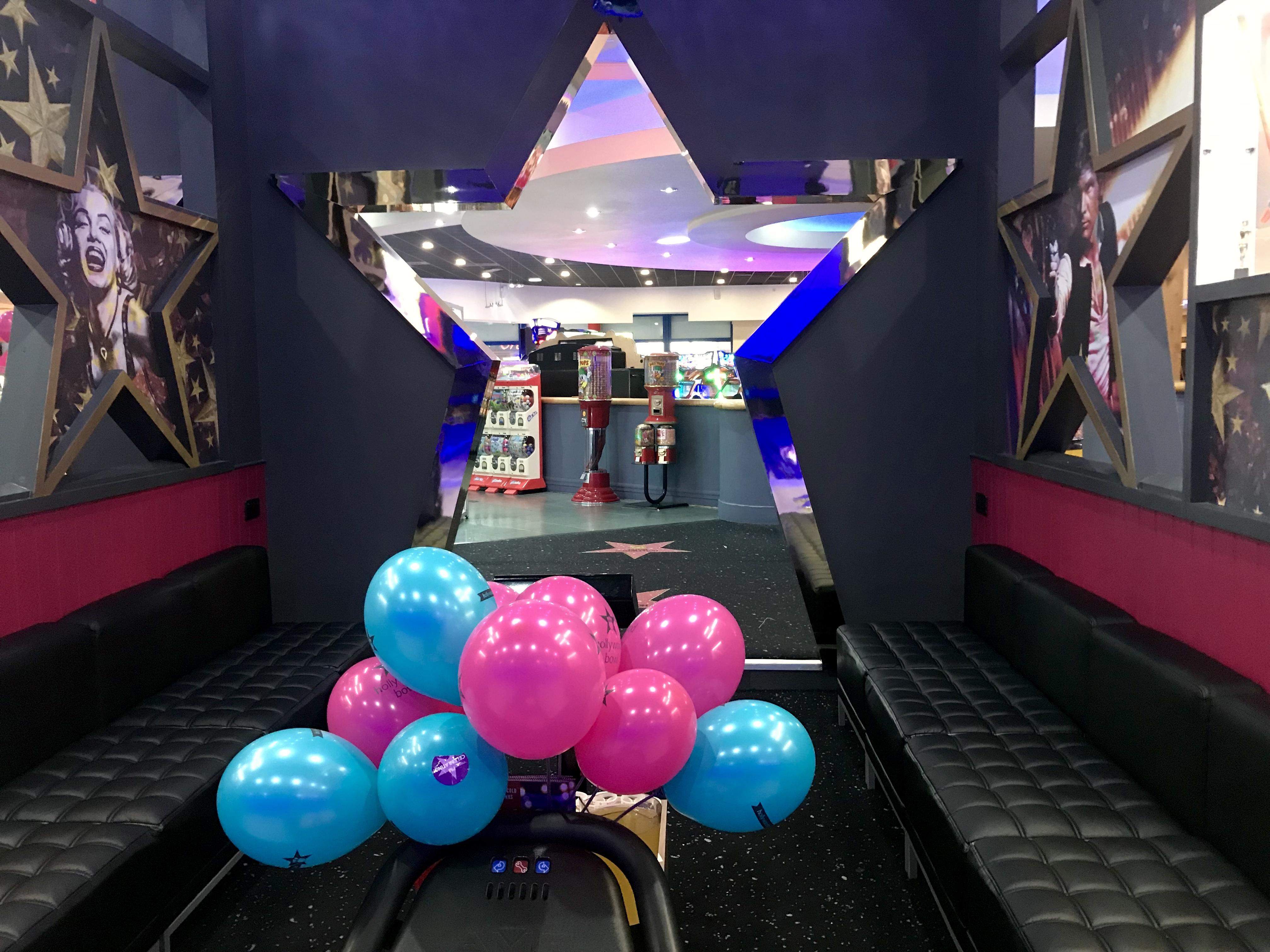 Birthday parties Hollywood Bowl Cardiff