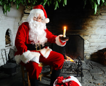 Father Christmas St Fagans