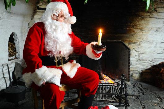 Father Christmas St Fagans