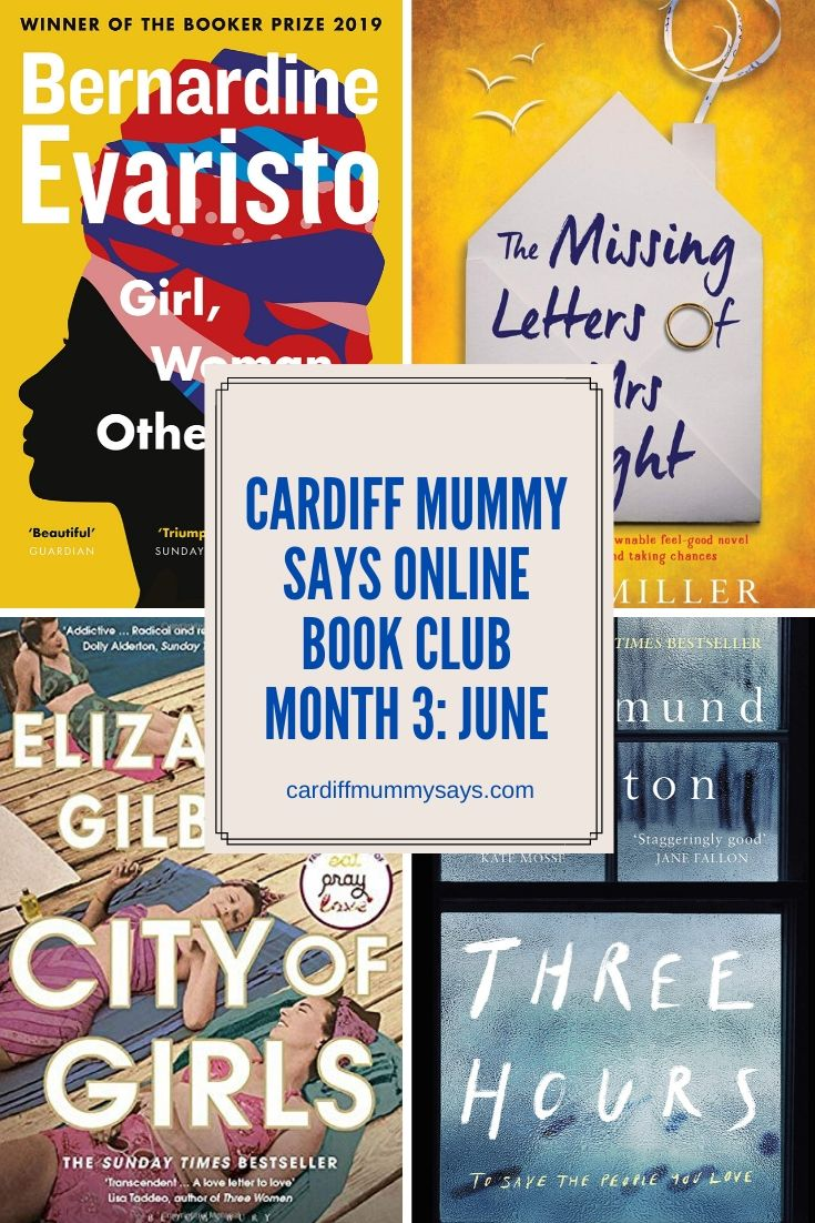 Cardiff Mummy Says online bookclub