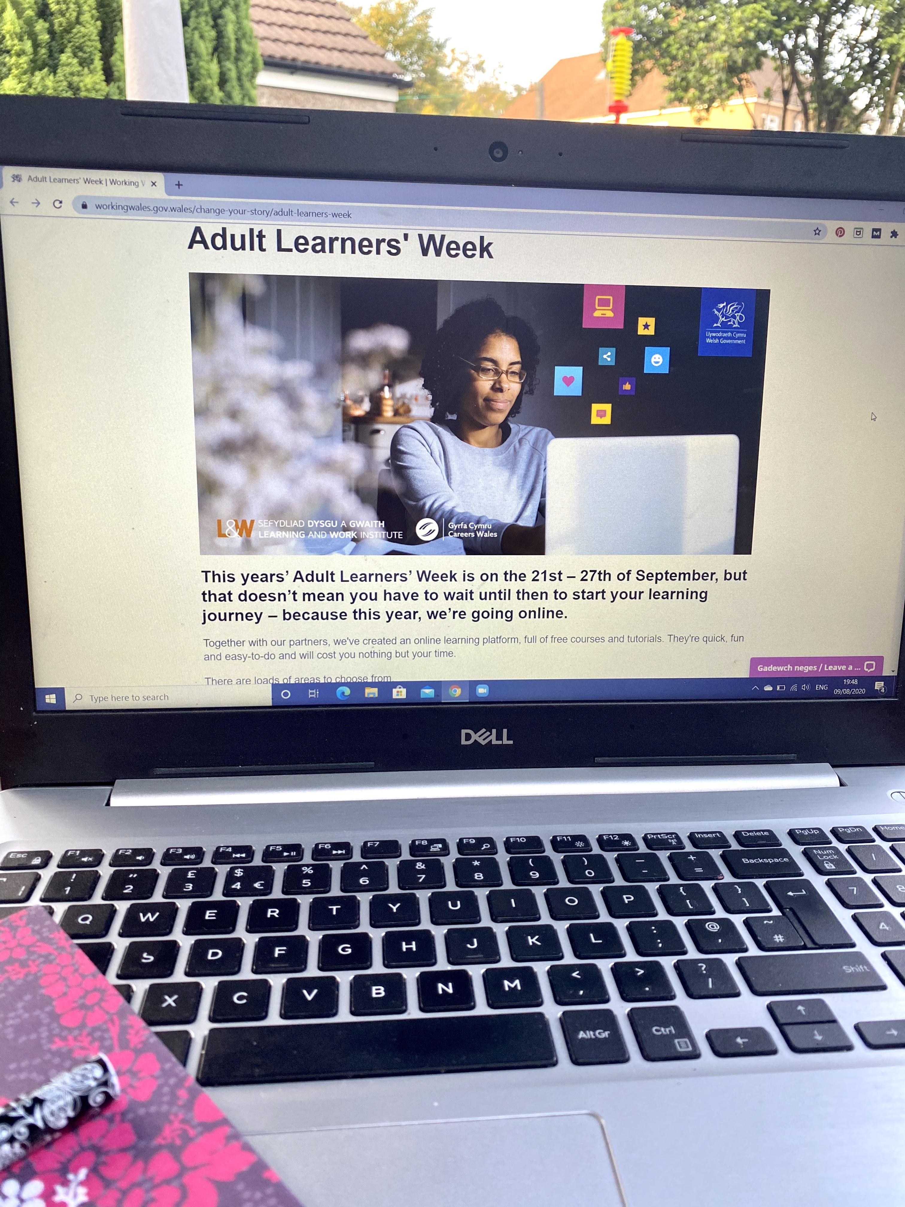 Cardiff Mummy Says Adult Learners' Week 2020