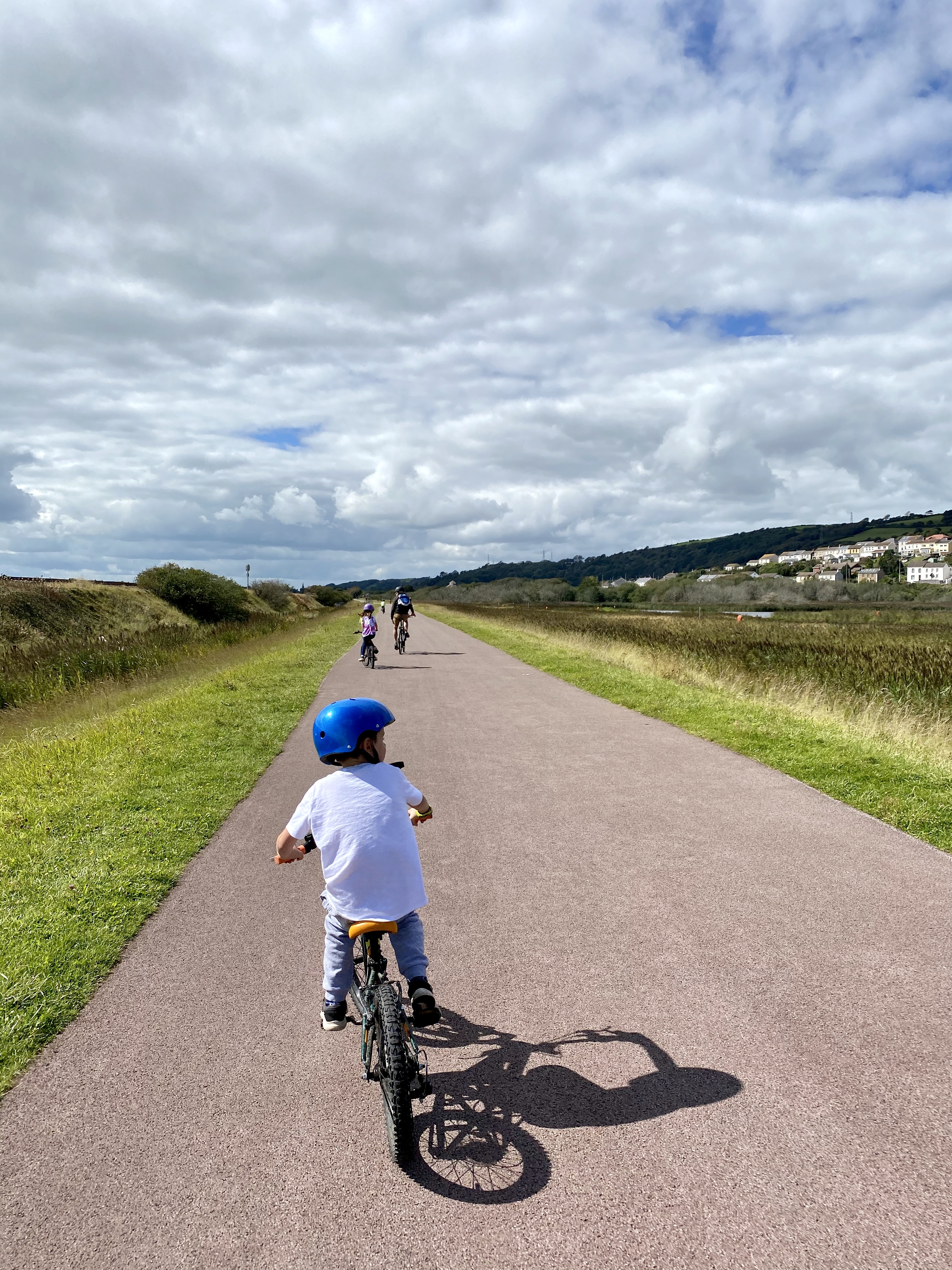 Millennium Coastal Path family bike cycle ride